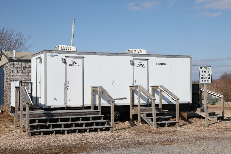 Non-ADA compliant portable restrooms - replaced
