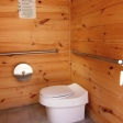 Clivus waterless toilet at Oxbow NWR