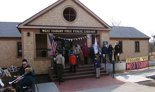 Waste Treatment at West Tisbury Library