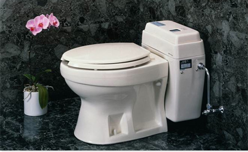 Clivus Nepon 3-ounce Foam-Flush Toilet