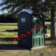 Replaced portable toilet