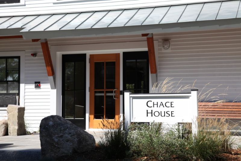 Chace House front door