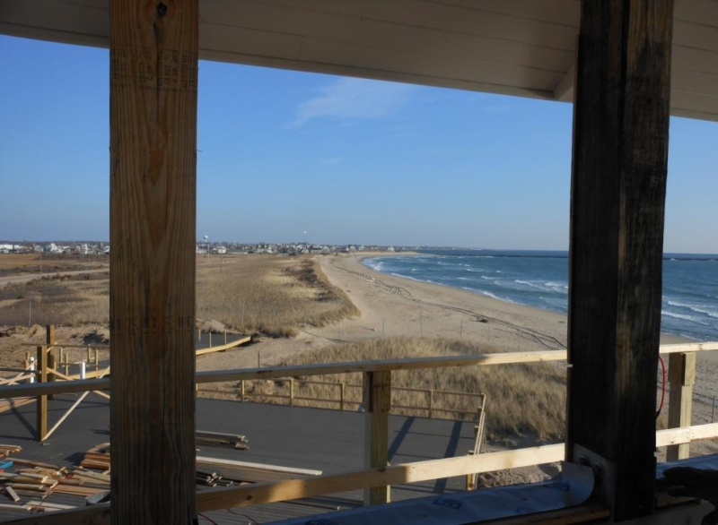 View from lifeguard tower